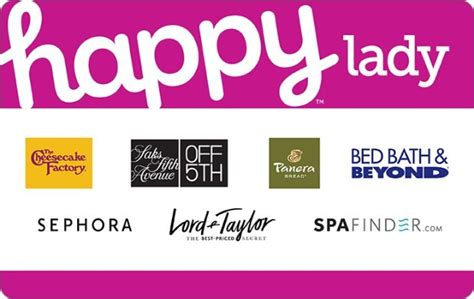 happy lady gift card sephora cheesecake factory