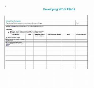 work plan 40 great templates samples excel word With what is a work plan template