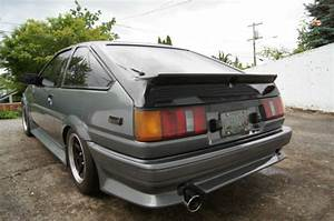 1984 Toyota Corolla Ae86 With 4agze Turbo Swap Hachiroku