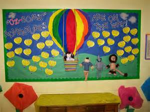 Hot Air Balloon Bulletin Board Welcome Back