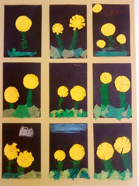 tussilago spring crafts hobbies  crafts montessori art