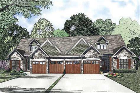 multi unit house plans home design