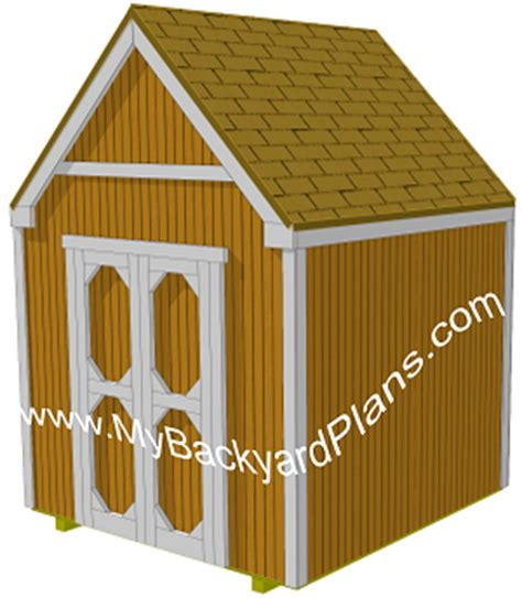 8x8 storage shed plans must see nma