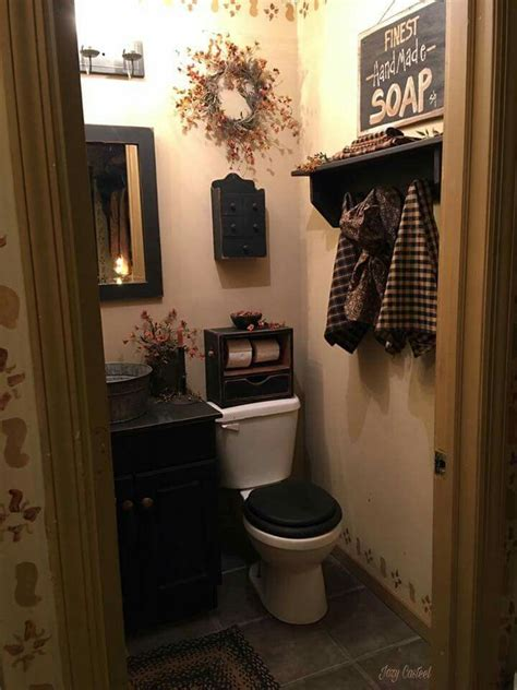 Country Bathroom Decorating Ideas by I Never Seen A Stencil Around The Baseboard Prim