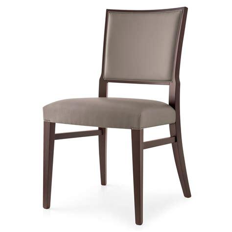 chaise tissus 510 chaise moderne en bois recouverte en tissu en
