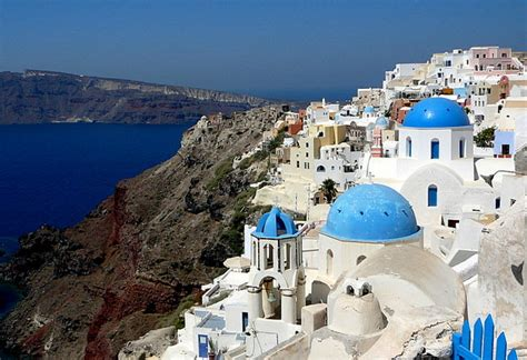 The Most Beautiful Place In The World? Santorini? Possibly