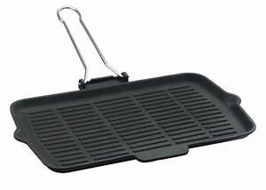 Gusseisen Pfanne Rechteckig : grill pfanne eckig 21 x 36cm mit klappbaren drahtgriff ~ Markanthonyermac.com Haus und Dekorationen