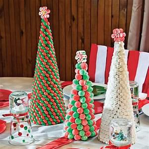 Decoration Buche De Noel Comestible : fabriquer un centre de table en bonbons en tapes ~ Melissatoandfro.com Idées de Décoration