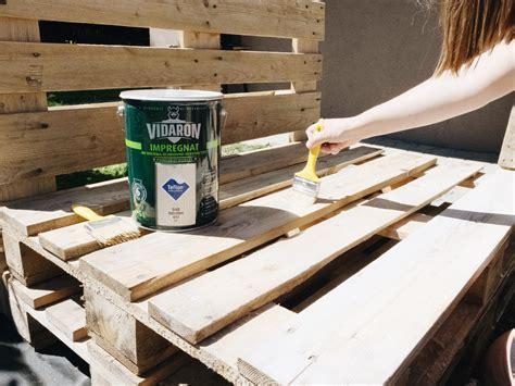 Stób Z Palet meble ogrodowe z palet jak zrobić instrukcja krok po