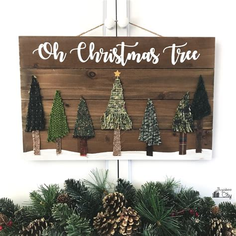cute diy christmas signs     shelterness
