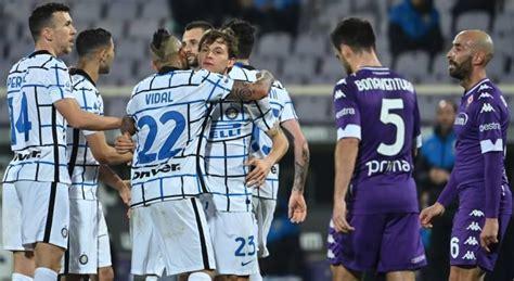Inter de Milão bate Fiorentina e assume liderança ...