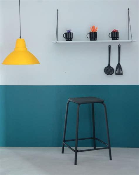 couleur mur de cuisine peinture cuisine moderne 10 couleurs tendance côté maison