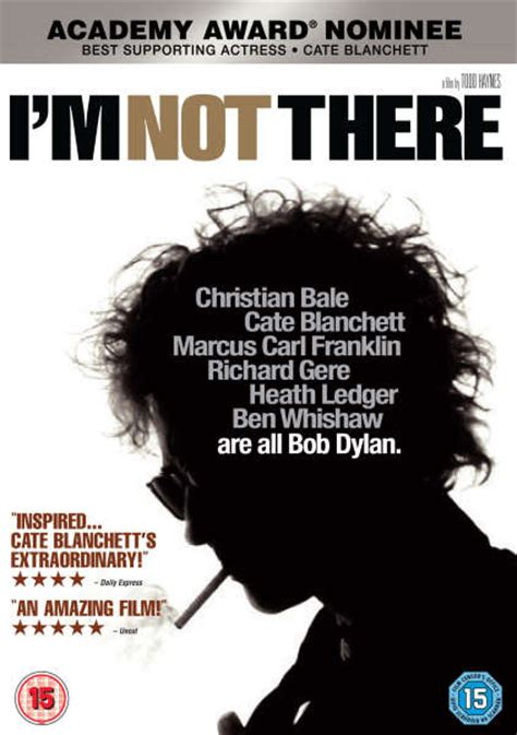I'm Not There DVD Zavvi