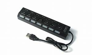 Multiprise Avec Usb : multiprise usb avec interrupteur 7 ports groupon shopping ~ Melissatoandfro.com Idées de Décoration
