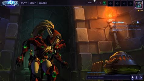 Heroes Of The Background Valeera Menu Background Screen And Tryout Shadow Of