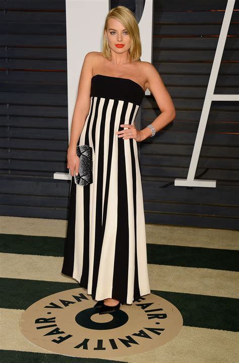 vanity fair oscar margot robbie 2015 vanity fair oscar in
