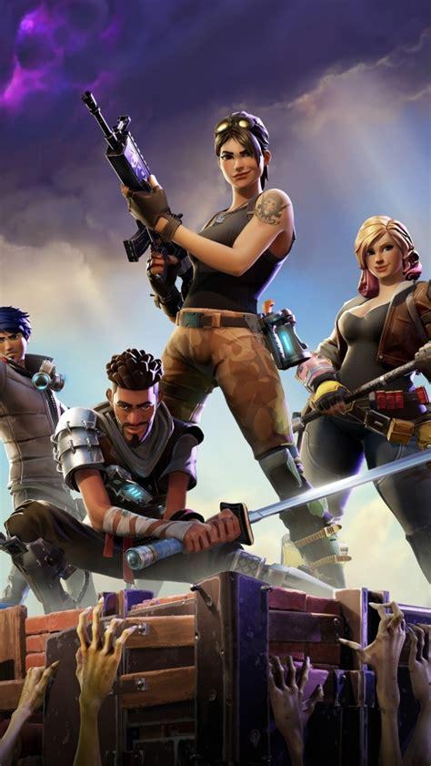 fortnite game poster full hd  wallpaper