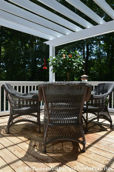 stain your deck with an oil based stain for long lasting