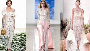 Top Fashion Trends For Spring & Summer 2018 From The ...