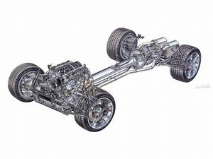 Car Engine Parts Exploded View