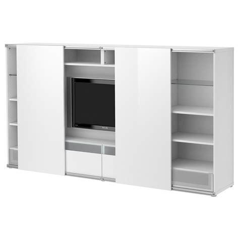 Schiebetüren Ikea by Best 197 Tv Aufbkomb Mit Schiebet 252 Ren Wei 223 Ikea