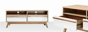Tele Pas Cher 80 Cm : meuble tv pas cher et design miliboo ~ Teatrodelosmanantiales.com Idées de Décoration