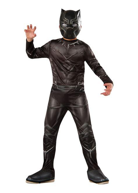 civil war black panther boys costume superhero costumes