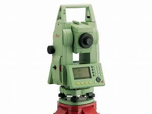 Leica Tcr 407 Station Total  U2013 Geotech