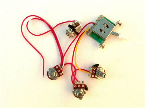 Way Wiring Harness Kit For Fender Stratocaster