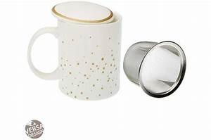 Mug Avec Infuseur : mug th avec infuseur braisy mug verre pas cher ~ Teatrodelosmanantiales.com Idées de Décoration