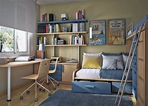 10 Tips on Small Bedroom Interior Design - Homesthetics