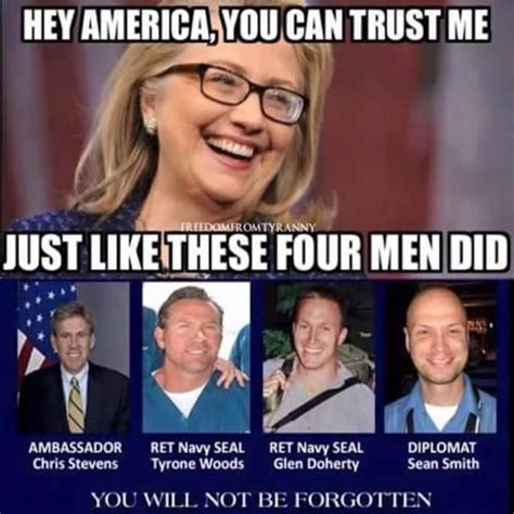 Clinton Memes - powerful meme shows exactly how much we can trust hillary clinton america land that i