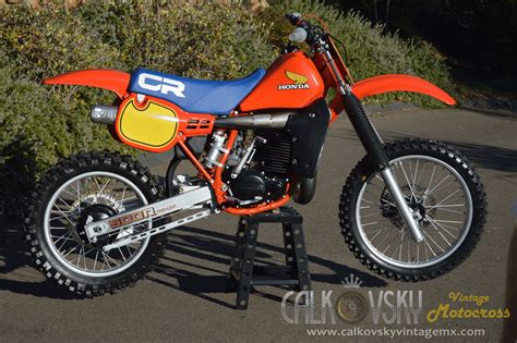 Vintage Motocross Dirt Bike