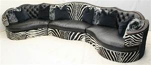 zebra sofa zebra settee sofa amazing as sleeper sofas for With zebra sectional sofas