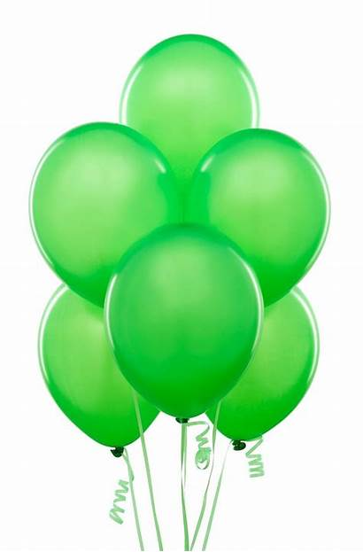Balloons Balloon Clipart Birthday Happy Lime Party