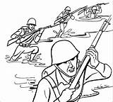 Army Coloring Pages sketch template