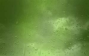 Gotas De Agua Sobre Fondo de Pantalla Pantalla Verde fondos de pantalla gratis