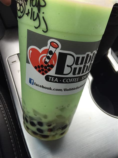 honey dew specialty smoothie  boba  lychee jelly