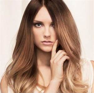 Natural Light Brown Hair With Highlights