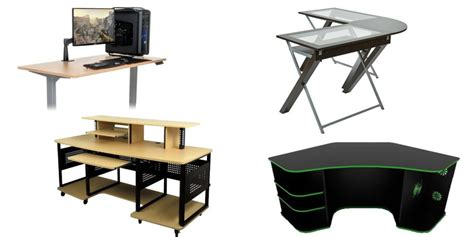 desk chairs modern 15 computer desks that are great for gaming