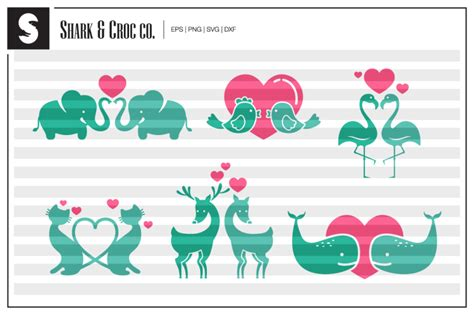 Explore our other popular graphic design and craft resources. Free 'Animal Couples' cut files Crafter File - Download ...