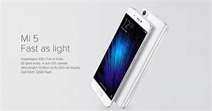 Xiaomi Mi5 Price And Features