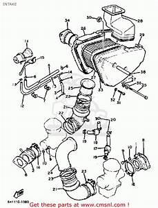 Yamaha Xv920r Virago 1982  C  Usa Intake