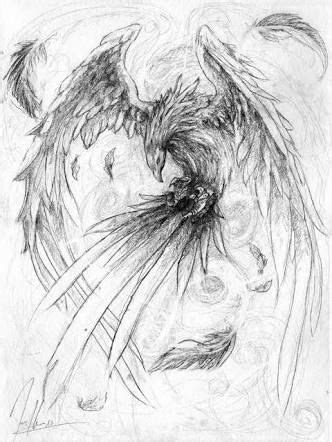 """realistic phoenix bird drawings""的图片搜索结果 | Phoenix tattoo"