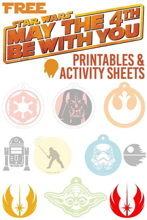 May the 4th Be With You Star Wars Printables and Star Wars ...
