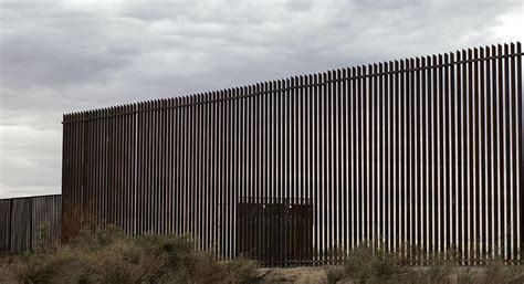 border mexico wall trump fence existing between states trumps california build section would reveals already president along state well update