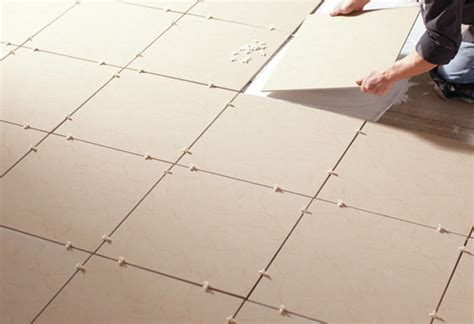 how to lay floor tiles how to tile a floor at the home depot
