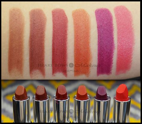 Colorbar Darkened Summer Lipstick Swatches & Price  Heart Bows & Makeup