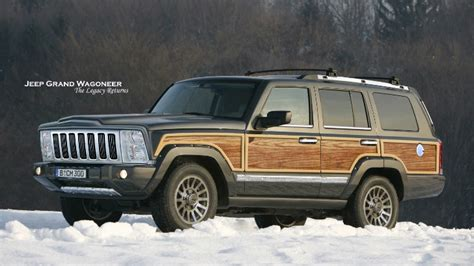New Jeep Grand Wagoneer Launch Date Set For 2018, To Get