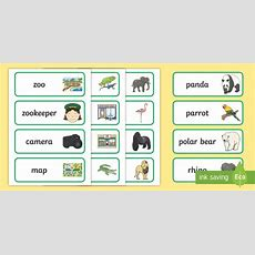 At The Zoo Word Cards  Eyfs, Early Years, The Zoo, Animals, Words, Writing